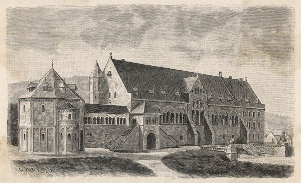 The Imperial Palace, Goslar, Upper Saxony