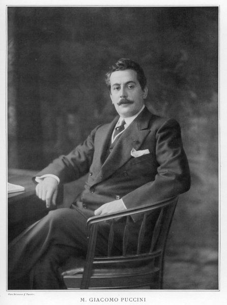 GIACOMO PUCCINI Italian musician at the time of 'Madama Butterfly&#39