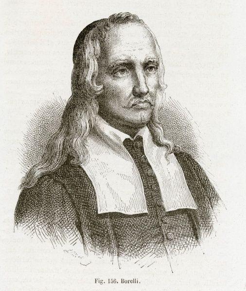Giannalfonso Borelli (1608-1679), Italian medical, mathematician physiologist