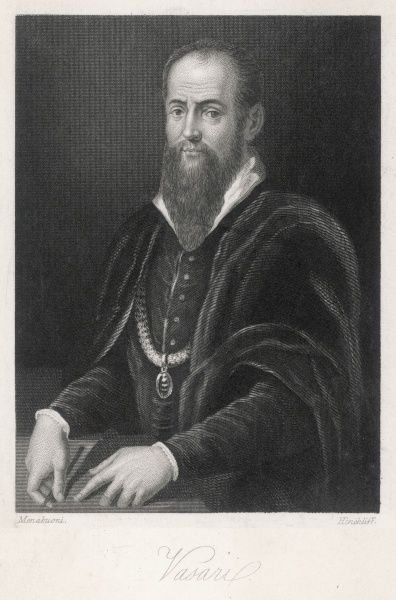 GEORGIO VASARI Italian artist, architect and art historian, famous for his 'Lives of the painters&#39