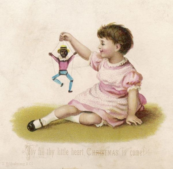 Girl with a dancing doll