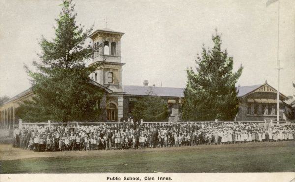 Public school photo, Glen Innes, New South Wales, Australia