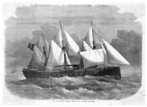 French ironclad frigate