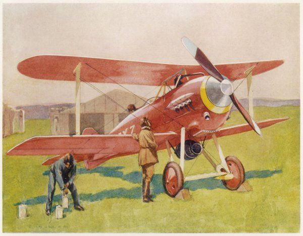 The Gloster Racer, also known as the 'Bamel' is the winner of the 1923 Aerial Derby. It is specially designed for racing and sporting activities