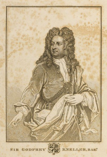 SIR GODFREY KNELLER artist renowned for his portraits of anybody who was anybody