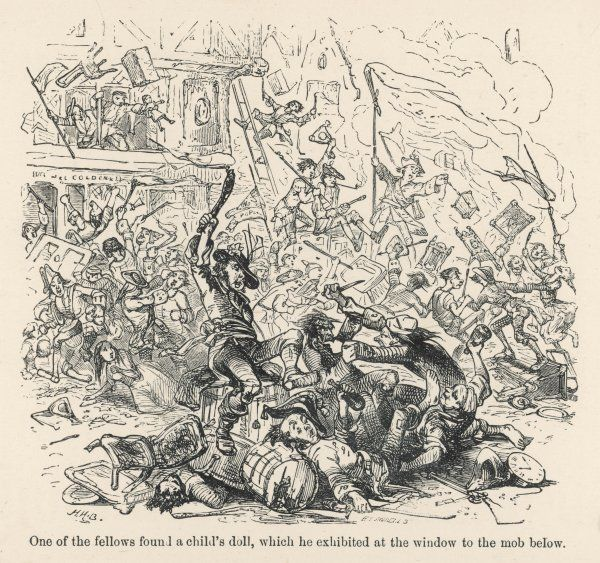 The anti-Catholic Gordon Riots in London