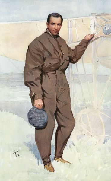 Claude Grahame-White, English aviator and engineer Date: 1879 - 1959