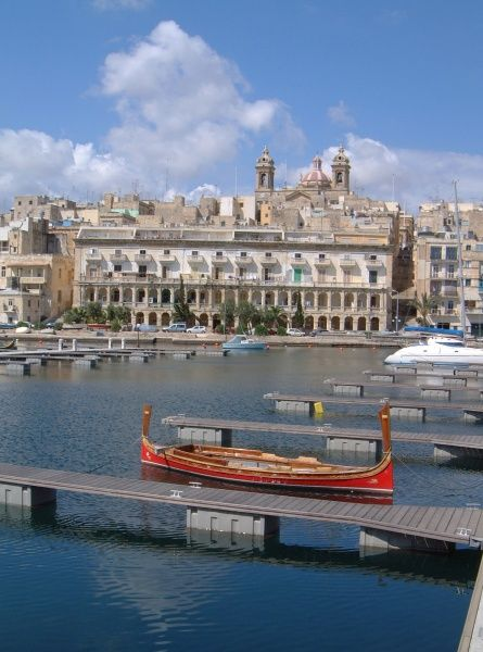 The Marina - St Lawrence off the Grand Harbour, Valletta