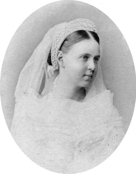 Grand Princess Maria Alexandrovna of Russia, later Duchess of Edinburgh (1853-1920), only daughter of Tsar Alexander II of Russia