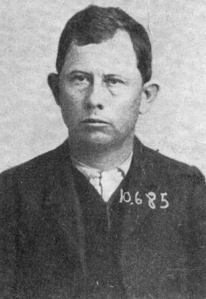 Grattan Dalton, American train robber, who was killed in a bank raid in 1892 Date: 19th Century