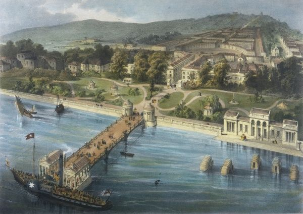 Gravesend, Kent: proposed development at Milton-on-Thames at the Royal Terrace Pier and Gardens