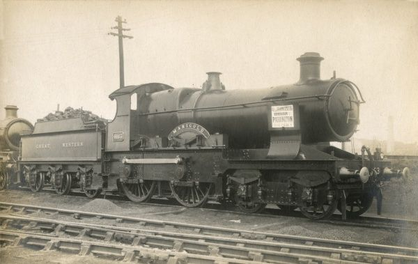 Great Western, Marigold Steam Train, Flower Class Locomotive 4163 1908