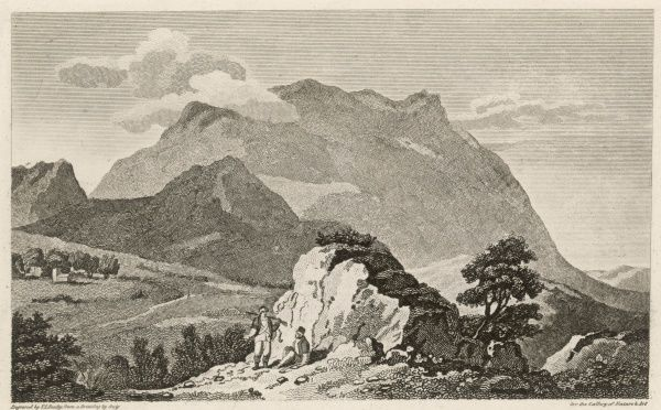 Mount Parnassos (or Parnassus) near Delphi is associated with Apollo and the Muses, and consequently perceived as the source of poetry and music