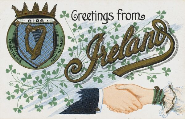 Greetings from Ireland - a souvenir postcard
