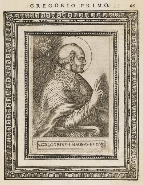 POPE GREGORIUS I Pope from 590 - 604 Also known as St Gregorius the Great