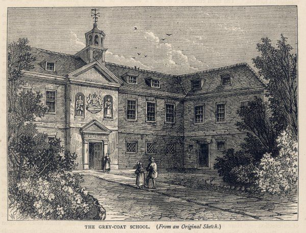Greycoat Place, Westminster : A 'charity school' founded for the education of poor boys and girls