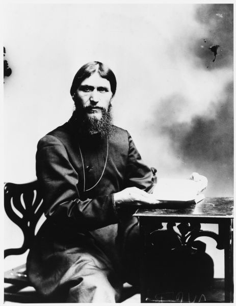 GRIGORI RASPUTIN Russian mystic and court favourite
