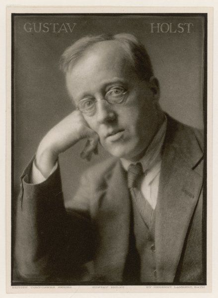 GUSTAV HOLST - English composer and music teacher