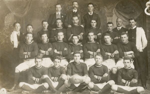 Gymnasium FC 1909 on their visit to Violettown in Australia
