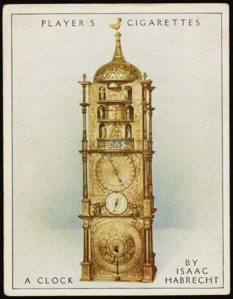 Astronomical clock made by Isaac Habrecht for pope Sextus V