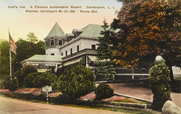 Hall's Inn automobile resort, Centerport, Long Island, New York