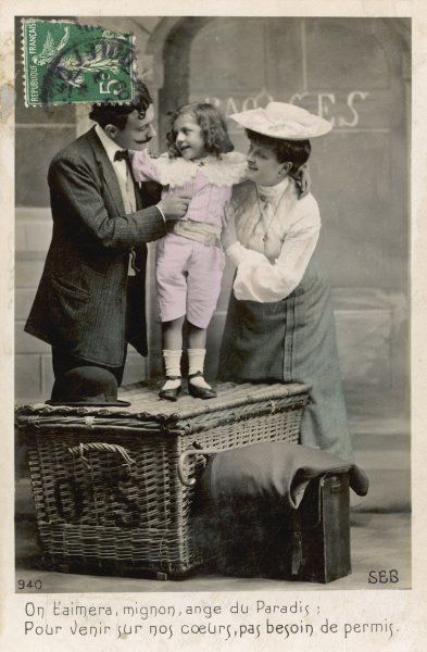 THE HAMPER HYPOTHESIS - 4 The child, who arrives fully dressed, turns out to be a boy - Gracious heavens ! they exclaim, It's just what we always wanted !