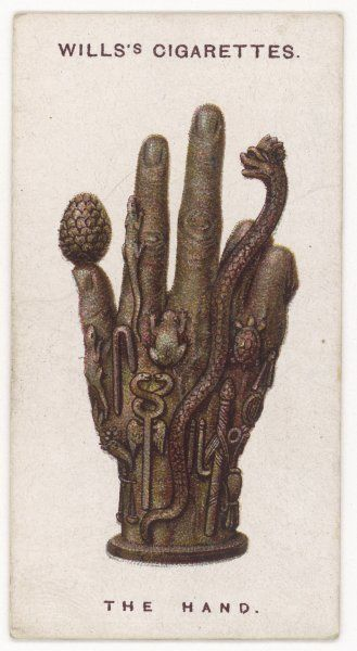 HAND TALISMAN incorporating other signs and symbols, this is a very powerful protective emblem