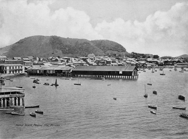 Harbour Scene, Panama City, Panama