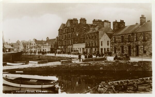 Harbour Street - Kirkwall, Orkney Islands Date: circa 1910s