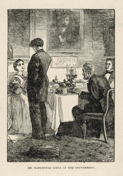 Mr Harthouse dines at the Bounderbys&#39