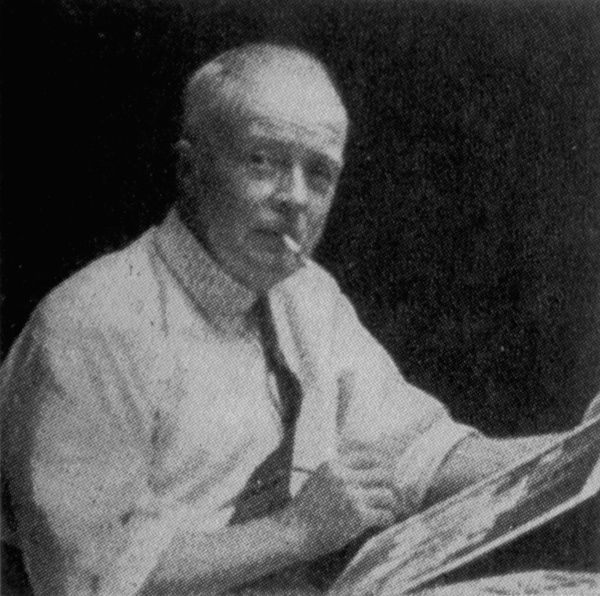 Harry Rountree (1878-1950) - artist and illustrator, born in New Zealand
