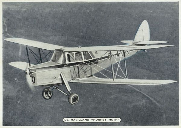 A two-seater biplane popular with private aviators ; it will fly at 180 km/h for over 1000 kilometres