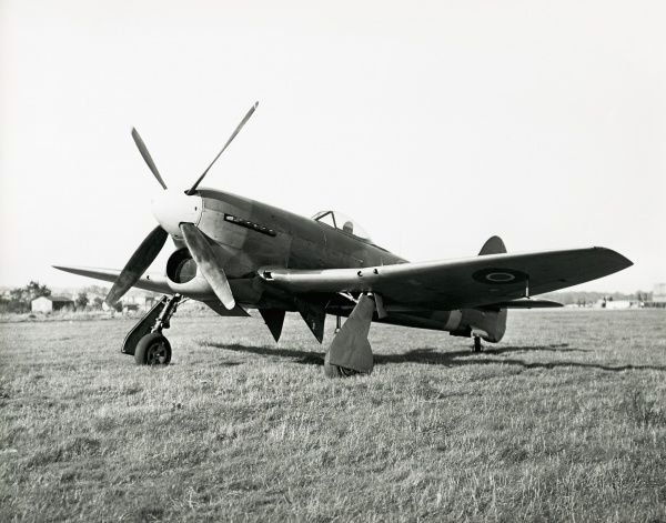 Hawker Tempest V powered by a Sabre IIB engine Date: 1943