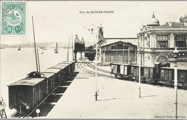 Haydar Pasa Station - Constantinople, Turkey