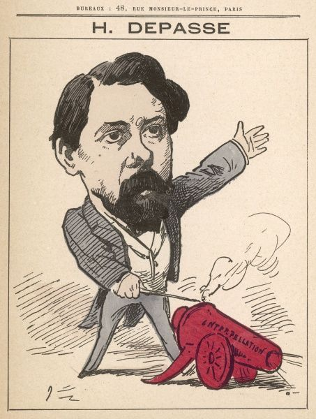 Hector Depasse (1842-1911) French politician