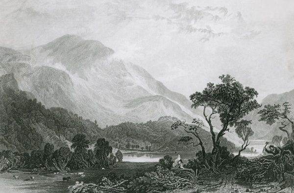 Helvellyn, Cumbria, viewed from the north west Date: 1832