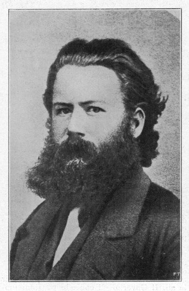 HENRIK IBSEN Norwegian writer at the age of 29, when he was director of the theatre in Christiania