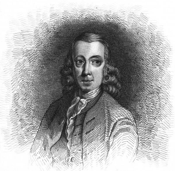 HENRY BROOKE Irish writer of novels and plays including 'The fool of quality'. Date: 1703 - 1783