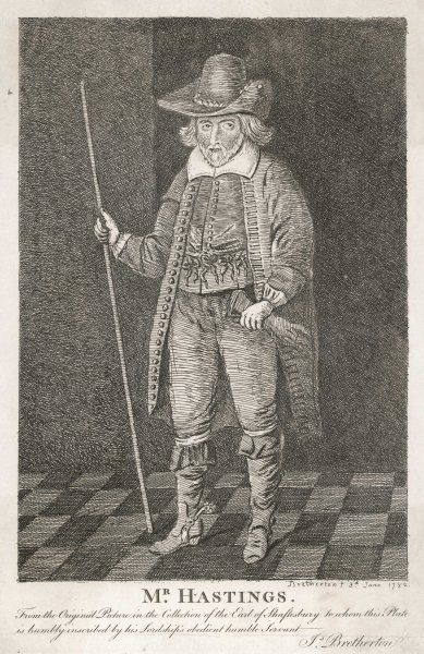 HENRY HASTINGS of Woodlands, Dorset : sportsman, son of the fourth earl of Huntingdon