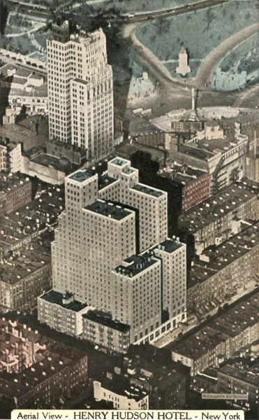 Henry Hudson Hotel on 57th Street, New York City, America