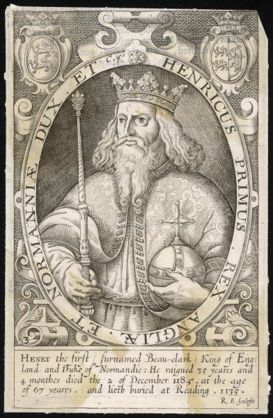 KING HENRY I King of England (1100-35)
