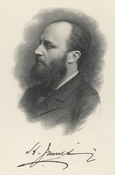 HENRY JAMES American writer