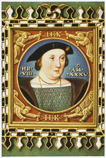 KING HENRY VIII Aged 35 in 1526