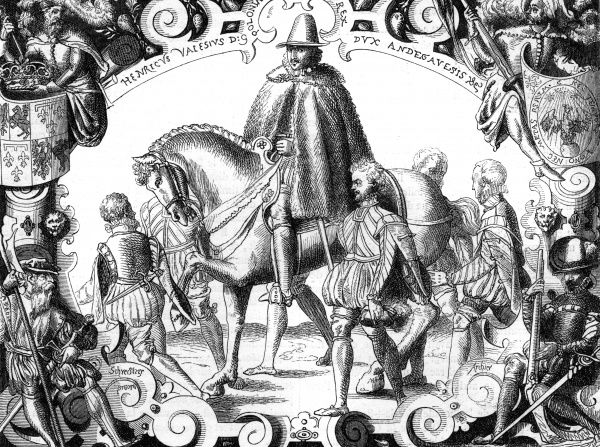 Henri duc d'Anjou, later Henri III of France, is elected Henryk king of Poland : he is so reluctant, the journey from Paris to Krakow takes him five months. He reigns only 1 year. Date: May 1573