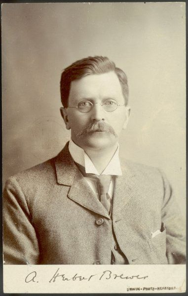 SIR ALFRED HERBERT BREWER Organist and composer