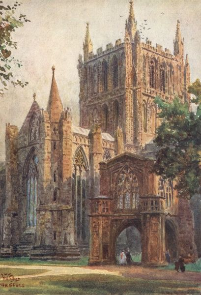 Hereford Cathedral Date: 1905