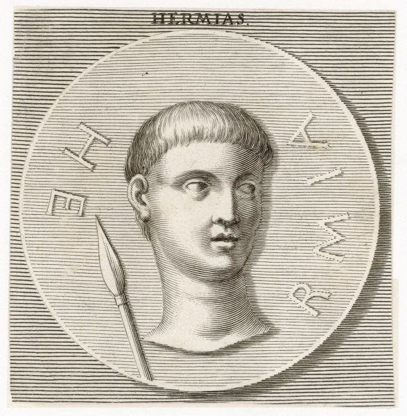 HERMIAS, tyrant of Artaneus and Assos, friend and patron of the Greek philosopher Aristotle