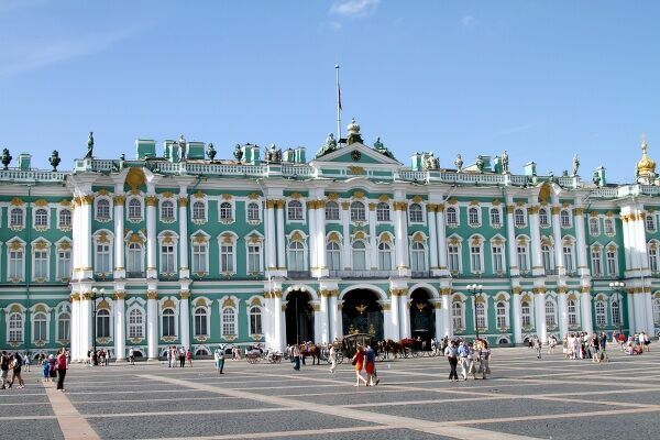 The Hermitage, aka The Winter Palace in St. Petersburg, Russia circa 2008