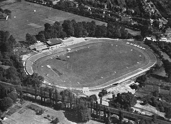 Track cycling events were held in Herne Hill Arena in South London for the XIVth Olympiad. Olympic cycling comprised of road racing and track cycling. The road racing took place through the roads of Windsor Great Park. Date: 1948