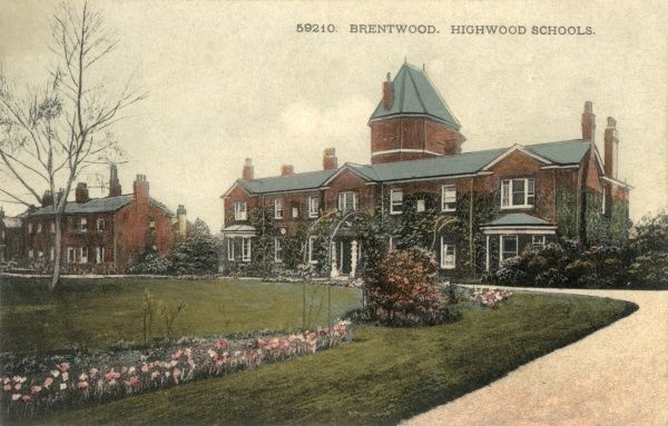 The administration block at Highwood (or High Wood) School, Brentwood, Essex